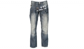 Police Fly App Jeans